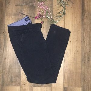 American Eagle skinny black slacks